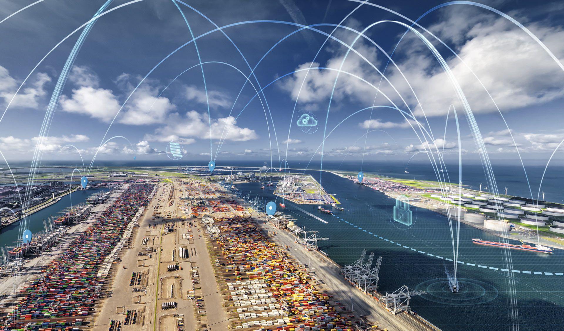 5G-LOGINNOV, pour optimiser la logistique dans les ports grâce à la 5G
