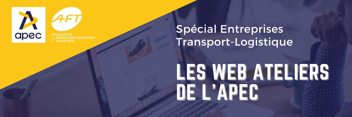 Bannière web atelier Apec et AFT