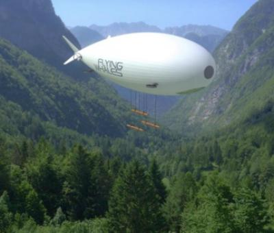 Un ballon dirigeable pour le transport de fret