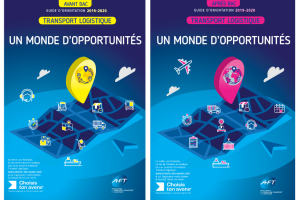 Couvertures Guides orientation AFT Transport Logistique 2020